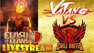 WORLD WAR LEAGUE and TH7 Cup $35,000 Tournament! VATANG vs CHILE UNITED - 30v30 ALL TH12!