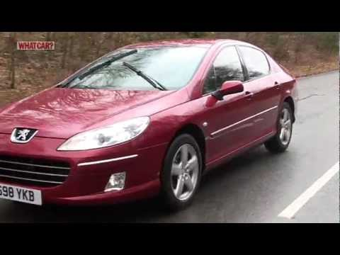 peugeot 407 saloon review what car youtube. Black Bedroom Furniture Sets. Home Design Ideas