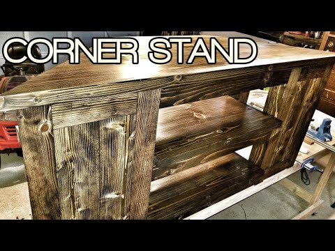 Building a Corner TV Stand