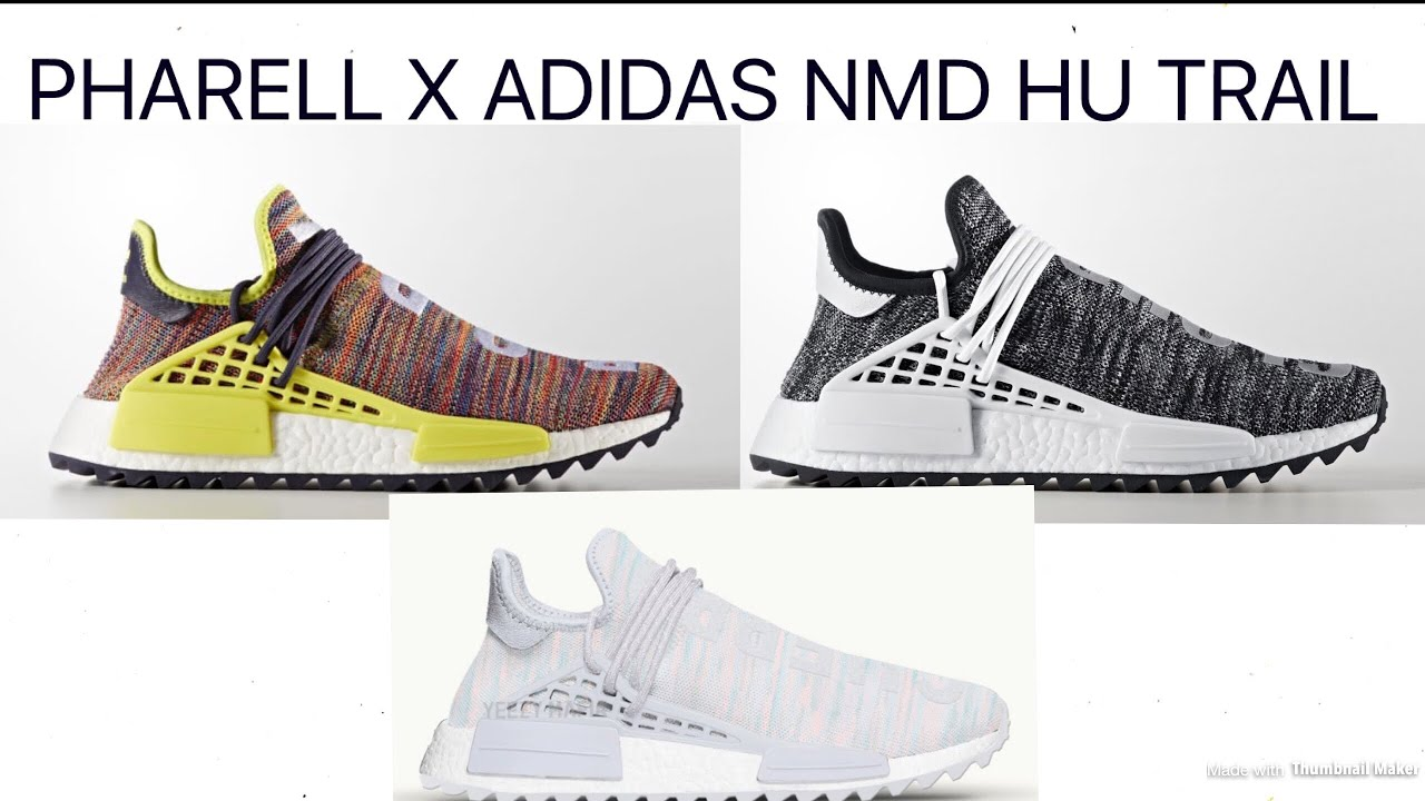 "THE PHARRELL X ADIDAS NMD HU TRAIL ""HIKING PACK"