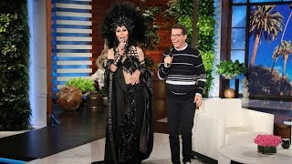 Sean Hayes Spots Cher in the Audience