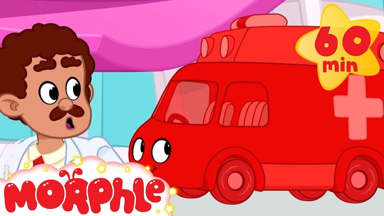 Ambulance Rescue - My Magic Pet Morphle | Cartoons For Kids | Morphle TV | Morphle Compilation