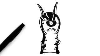 Comment dessiner Goon (Slugterra)