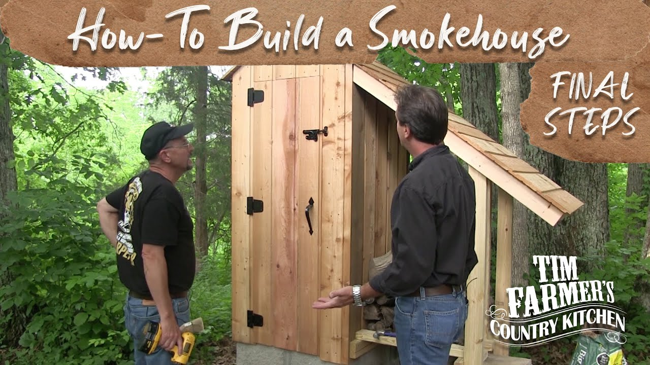 How to build a smokehouse final steps youtube - Designing and building your own home ...