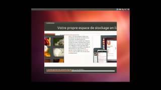 Installation d'Ubuntu Test