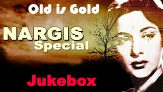 Best Of Nargis Songs -  Evergreen Bollywood Collection -  Video Jukebox