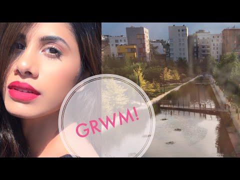 GET READY WITH ME! + Mini Vlog | France | Malvika Sitlani