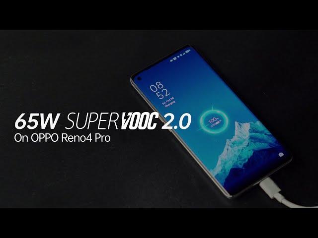 OPPO Reno4 Pro | 65W SuperVOOC 2.0 Flash Charging