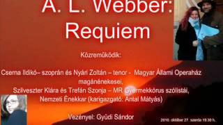 A. L. Webber: Requiem