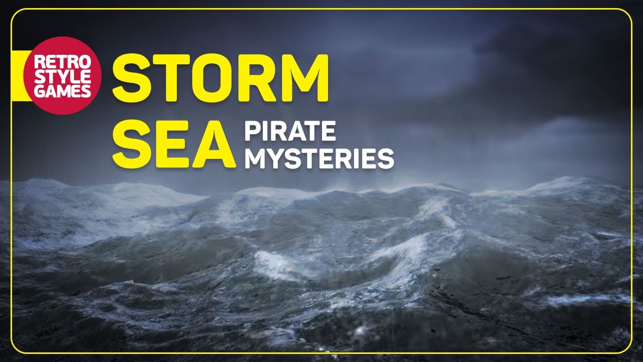 Pirate Mysteries Title Screen loop able Storm Sea YouTube