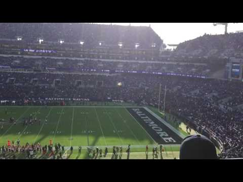 Justin Tucker 57-yard Field Goal Into The Wind Against the Bengals