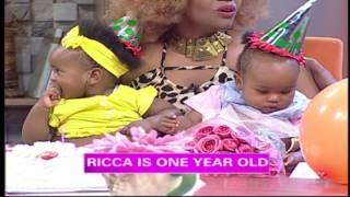Birthday Surprise for Pierra's Adorable Baby Girl, Ricca