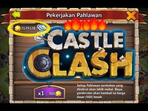 Castle Clash - Rolling Two Million Honor Badges !!!