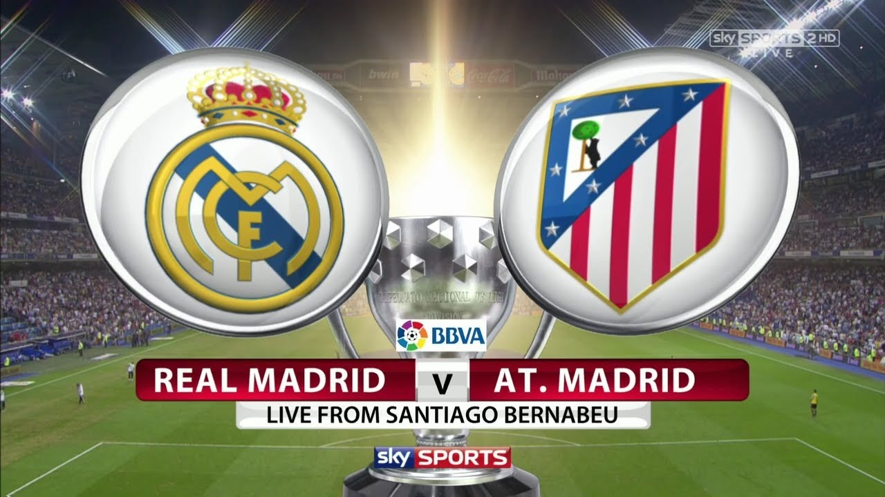 Live Real Madrid Vs Atletico En Vivo Youtube