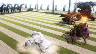 ARK Bosses Speed Battle - Which one is ARK's FASTEST BOSS? | Cantex