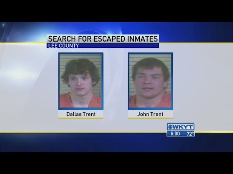 Two inmates escape from jailer in Lee County