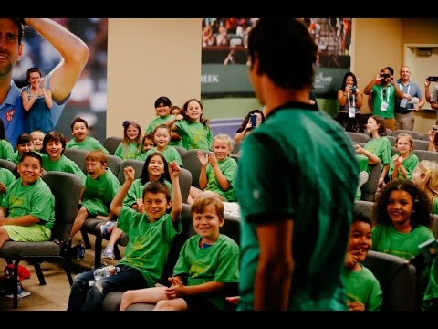 BNP Paribas Open 2017: Kid Reporters Quiz Roger Federer