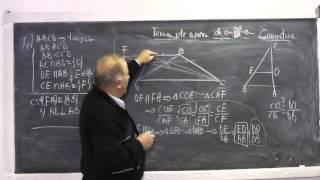 2/2 Lectia 822 Th. fundamentala asemanarii, Menelaus, Ceva, Cazuri congruenta triunghiurilor Clasa 7