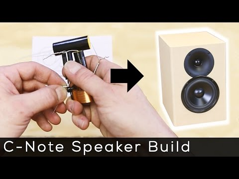 How to build the C-Note Speakers