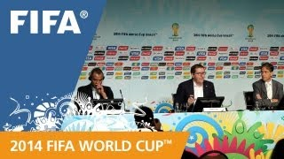 REPLAY: Media Briefing - FIFA World Cup ticket prices