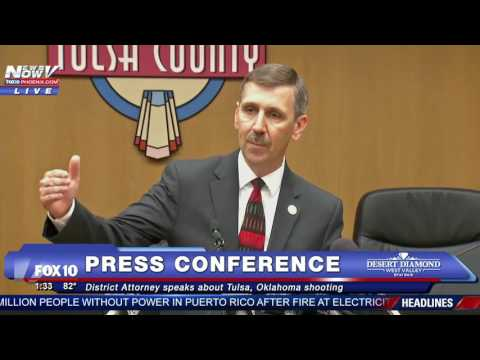 FNN: Charlotte North Carolina Protests, Tulsa Police Press Conference