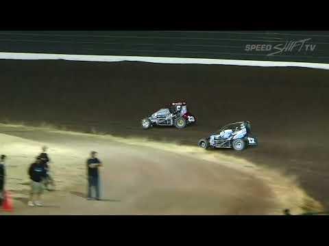 "USAC ""Louie Vermeil Classic"" Midget Highlights | Calistoga Speedway 9.1.18"