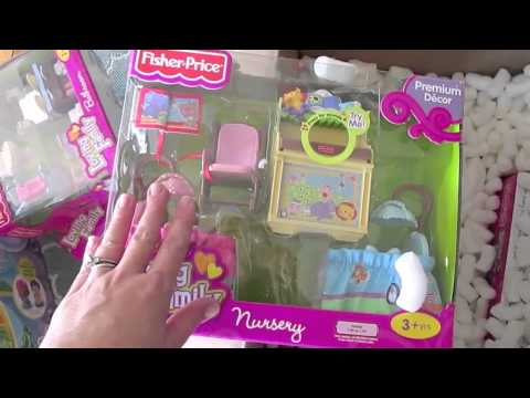 Fisher Price Toy Unboxing & Haul!!