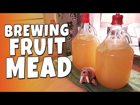 CWTK - Brewing Honey Fruit Mead