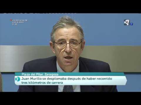 Fallece Juan Murillo en la Media Maratón de Zaragoza