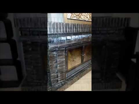 Como decorar y renovar una chimenea rustica youtube Como decorar una chimenea