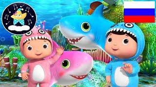 Малыш Акула | Версия 2 | Музыка для сна | Детские песни | Литл Бэйби Колыбельная | Little Baby Bum
