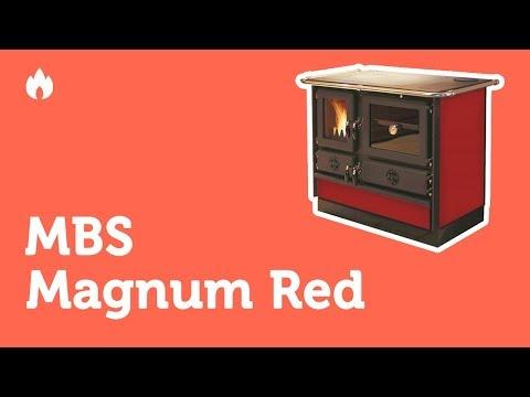 Видео обзор печь камин Mbs Magnum Red. Описание, комплектация...