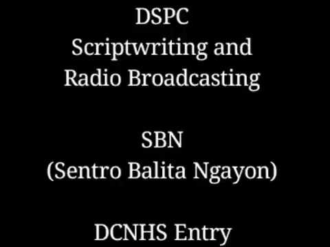 DSPC 2016  • SCRIPTWRITING AND RADIO BROADCASTING (Filipino)•  Champion