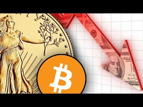 Stock Market Plunges 666 Points, Bitcoin Dives & Gold Dips