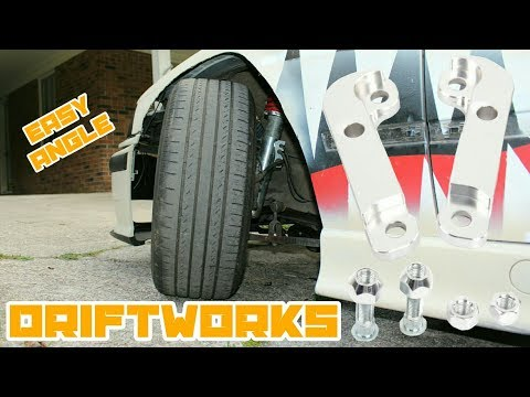 E36 Lock Adapters = Bozo Angle for Cheap! : BMW E36 325i Drift Build Ep.27