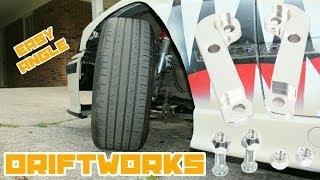 E36 Lock Adapters = Bozo Angle for Cheap! : BMW E36 325i Drift Build Ep.27