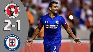 Xolos vs Cruz Azul 1-2 Resumen Y Goles Octavos de Final Copa MX 2018