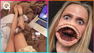 Halloween Makeup Artist Who Are At Another Level ▶ 2
