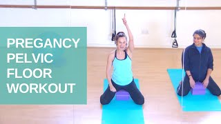 Pregnancy Pilates to Connect to your Pelvic Floor | Preparing for Birth | Jane Wake