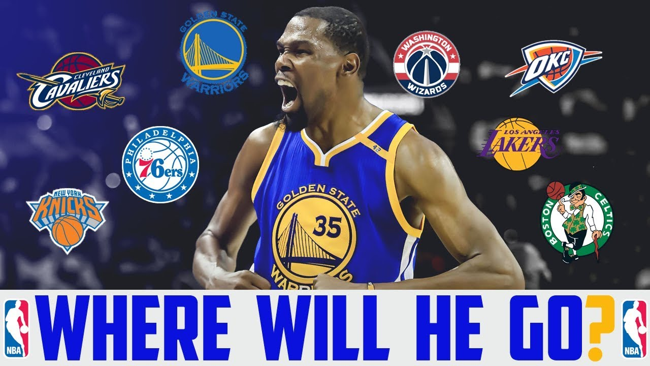 c0c87d90d0b5 2018 NBA FREE AGENCY Predictions KEVIN DURANT Warriors Thunder Wizards  Lakers (KD Free Agent)