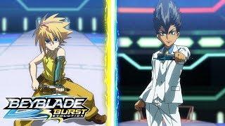 BEYBLADE BURST EVOLUTION Episode 43: White Hot Rivals!   Anime   Animation Video