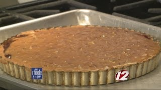 Cooking: Chocolate Caramel Pecan Tart, Baked Brie