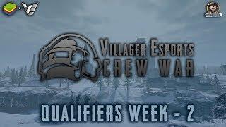 Villager Esports • PUBG Mobile Crew War - Week 2 | Qualifiers | Bluestacks