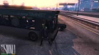 GTA V - Big traffic explosions
