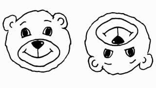 Картинки для новорожденных деток от 1 до 4 месяцев. Для малышей.