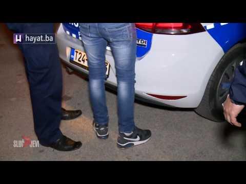 EVO KAKO IZGLEDA KADA SE ODUPIRETE PRIVOĐENJU POLICIJE U ISTOČNOM SARAJEVU
