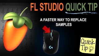 A quicker way to replace and audition samples in FL Studio