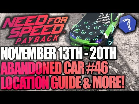 Need For Speed Payback Abandoned Car #46 - Location Guide + Gameplay - AKI KIMURA NOISE BOMB SILVIA!