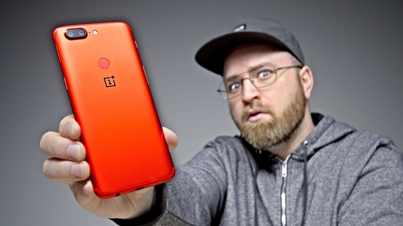 OnePlus 5T Lava Red Unboxing - $500 Can't Go Further