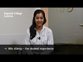 MSc Allergy - the student experience